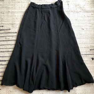 Vintage black Lloyd William skirt